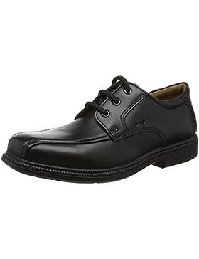 Geox Jr Federico H, Zapatos de Cordones Derby para Niños