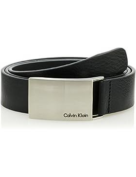 Calvin Klein Mino Plaque Belt - Cinturón Hombre