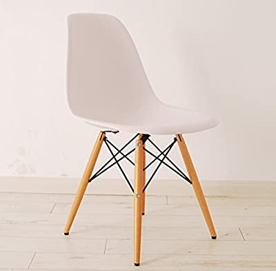 HNNHOME Inspired Eiffel Dsw Dining Plastic Chairs Modern Lounge Office Furniture - cheap UK light store.