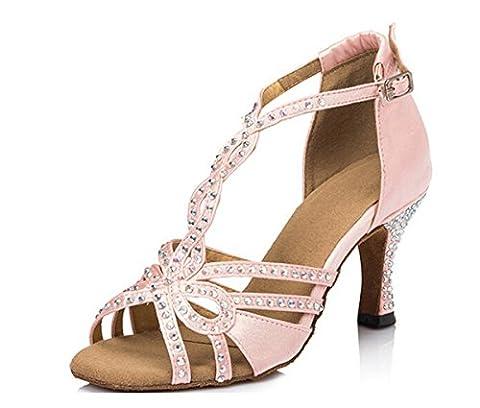 Minitoo , Damen Tanzschuhe , Pink - rose - Größe: (Verde Womens Sandali)