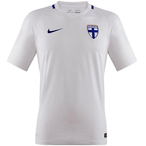Jersey Replica H/A WHITE/HYPER BLUE 16/18 Finland Nike