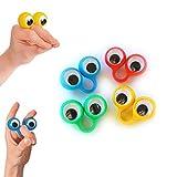 4 anelli paio di occhi - burattini da dito occhi - Eye finger puppets