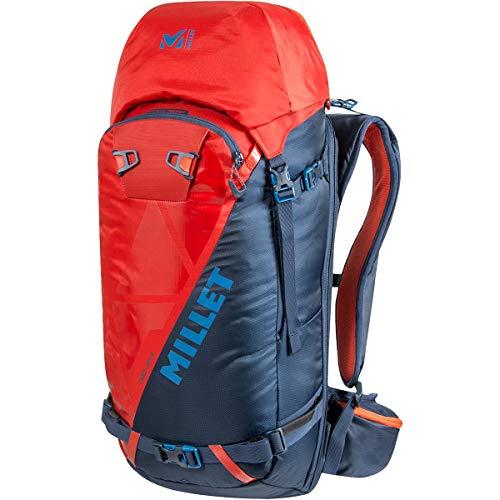MILLET Neo 35+ Rucksack, Ski, Wandern, Unisex Erwachsene, Orion Blue/Fire, Einheitsgröße, Hersteller: Einheitsgröße