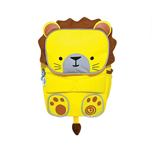 Trunki Trunki ToddlePak Backpack Buddy Leeroy (Yellow) Mochila infantil, 27 cm, 5 liters, Amarillo
