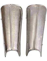Rieles de piernas de acero–Pierna orejeras–Patas–LARP–Medieval
