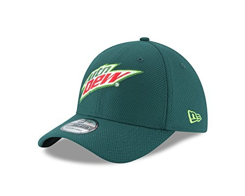 nascar-dale-earnhardt-jr-2016-39thirty-stretch-fit-drivers-cap-green-medium-large-by-new-era