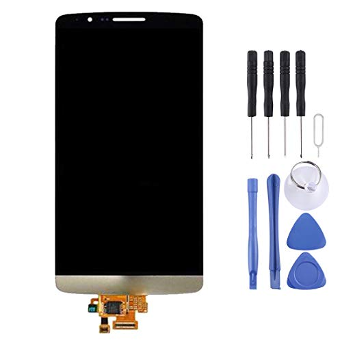 ZHOUYOUCHENGLCD for LG LG Nueva Pantalla LCD y ensamblaje Completo del digitalizador for LG G3 / D850 / D851 / D855 (Oro)