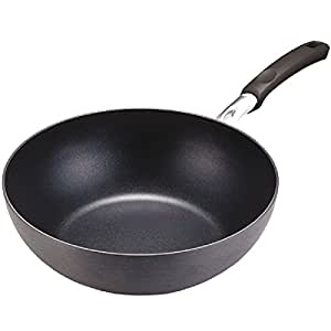 Lock&Lock Hard and Light Non-Stick Wok, 32 cm, Black