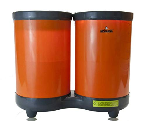 SPÜLBOY® Twin Go T orange, Gläserspüler, Gläserspülgerät