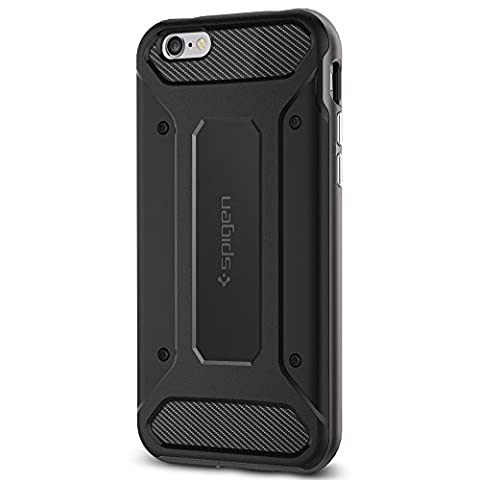 Coque iPhone 6s, Spigen [Fibre de carbone] Neo Hybrid Carbone Coque pour Apple iPhone 6 (2014) / iPhone 6s (2015) - Gunmetal (SGP11621)