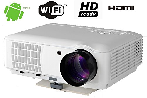 FR s84a WiFi Bratteck 4000Lumens 1920* 1080Home Android HD LED LCD Proyector...