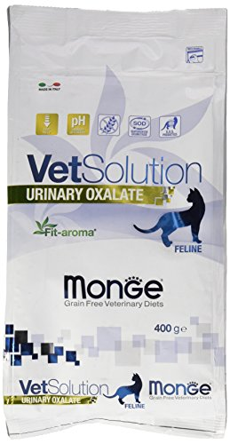Monge Veterinary Solution Gatto Urinary Oxalate GR. 400 Cibo Gatti, Multicolore, Unica