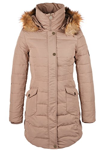 Alife & Famous Damen Jacke gestepptem Aurelia, Braun S