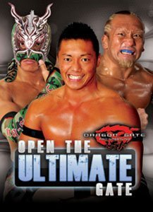 Preisvergleich Produktbild Dragon Gate Pro Wrestling DGUSA- Open the Ultimate Gate DVD