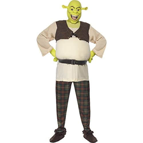 Couples Ladies AND Mens Dreamworks Shrek and Fiona Halloween Film Fancy Dress Costumes Outfits (Ladies 12-14 & Mens… 1
