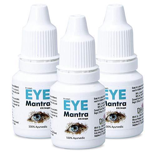 Dr Juneja's Eye Mantra Ayurvedic Eye Drops 10ml, Pack of 3