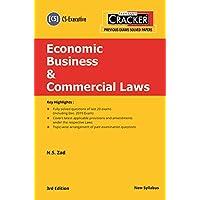 Taxmann's Cracker-Economic Business & Commercial Laws (CS-Executive-New Syllabus)(3rd Edition 2020)