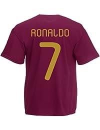 0ce43f1323fc6 Amazon.es  camisetas futbol - Rojo   Camisetas   Camisetas y tops  Ropa