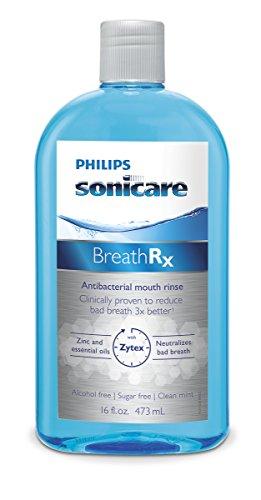 Philips Sonicare DIS364/03 OriginalBreathRx Antibakterielle Mundspülung, 473 ml