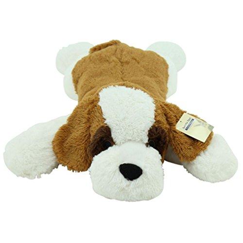 Sweety-Toys 5529 XXL Riesen Bernhardiner liegend Plüschhund - ca. 80 cm groß - Kuschelhund Teddybär Plüschtier Plüsch Plüschbär Sweety-Toys