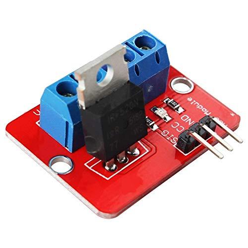 Preisvergleich Produktbild LIUYUNE, Praktisches IRF520-MOSFET-Treibermodul für Arduino(Color:ROT)