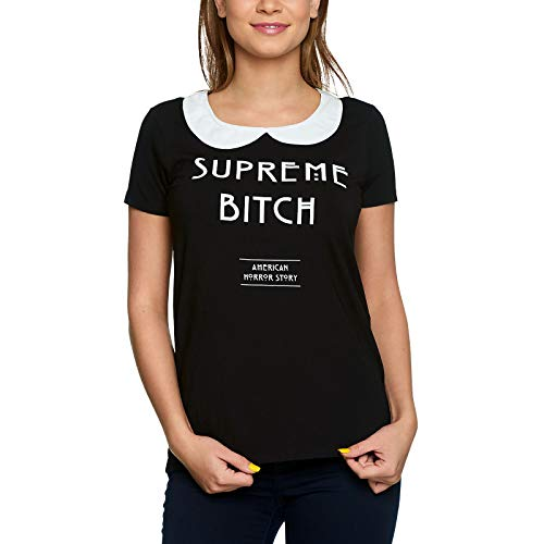 American Horror Story Damen T-Shirt Supreme Bitch Coven Elbenwald schwarz - XL -