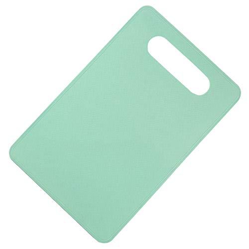 XQxiqi689sy Schneidebrett aus rutschfestem Kunststoff für Lebensmittel Einheitsgröße mintgrün