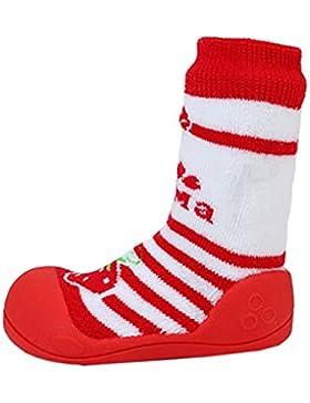 [Patrocinado]Dr.mama Bebé inferior suave zapatos del niño antideslizantes calcetines del bebé zapatos para aprender a andar