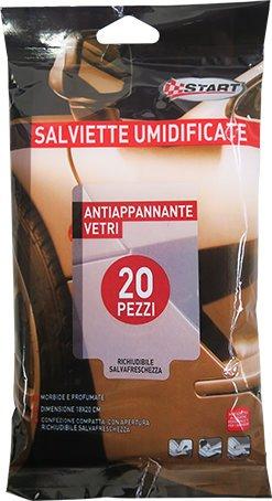 START Feuchttücher Für Brillen 20Pz Pflege Reinigung Und Autowäsche