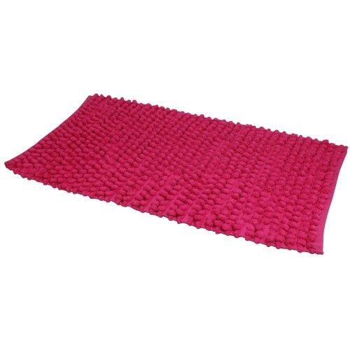 jvl-lagoon-tapis-de-bain-lavable-en-machine-rose-vif-50-x-80-cm