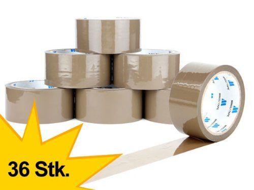 lot-de-36-ruban-adhesif-polypropylene-marron-bruns-48-mm-x-66-m-rouleaux-scotch-demballage-silencieu