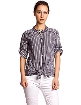 [Patrocinado]Abbino IG002 Blusas Para Mujer - Hecho EN Italia - Colores Variados - Transición Primavera Verano Otoño Mujeres...