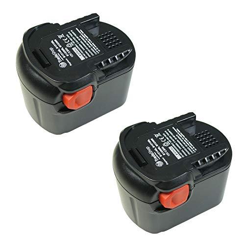 2 x Batterie ni-cd 12 v/2000mAh remplace 0700980320, b-1215-r b-1220-r m-1230-r pour b-1214-g b-1215-r b-1220-r bS12G bS12 x bSB12G bSB12STX bSS12RW gbsaa12 v m-1230-r