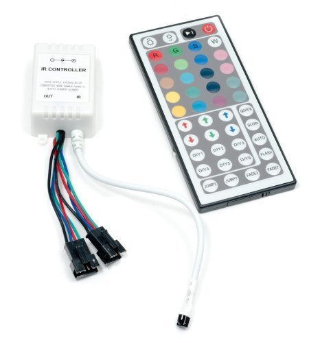 Led-receiver (QUMOX 44Key IR Remote Controller für RGB LED Strip 5050)