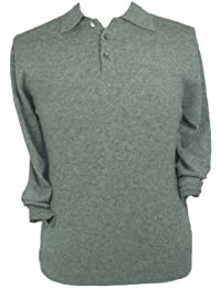 Pull polo Homme. Cachemire Pure.