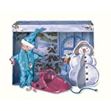 Zapf Creation 766095 - Baby born miniworld Snow und Fun-Set, 8-teilig