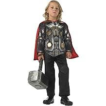 Thor 2 - Disfraz Deluxe, para niños, talla L (Rubie's 888895-L)