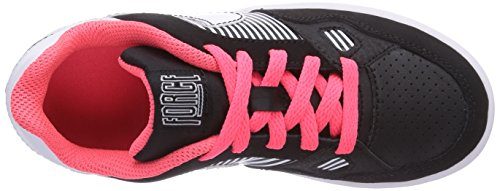 Nike Son Of Force 616497 Mädchen Low-Top Sneaker Mehrfarbig (Black/White-Hyper Punch)