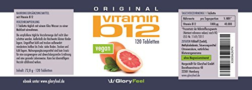 Gloryfeel – Vitamin B12