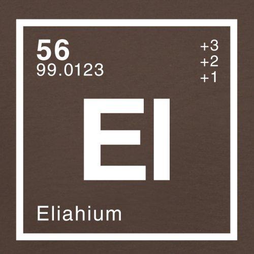 Eliah Periodensystem - Herren T-Shirt - 13 Farben Schokobraun