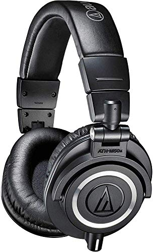 Audio Technica ATH-M50x - Auriculares para DJ, color negro
