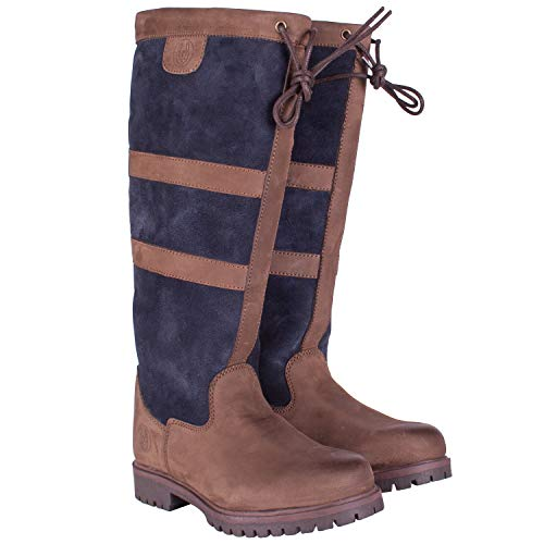 Tullymore III Unisex Leather Country & Equestrian Riding Boots