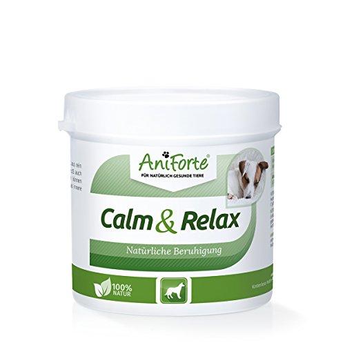 Artikelbild: AniForte Calm & Relax Anti-Angst Kräuter 100g - Naturprodukt für Hunde