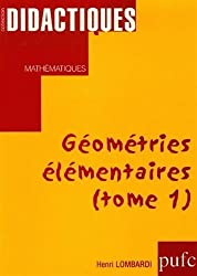 Géométries élémentaires