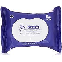 Klorane bleuet lingettes demaquillantes paquet de 25 - 1