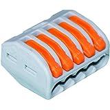 Wago - WAG222415 - Boîte de 40 Bornes - 5 x 0,08-4 mm²