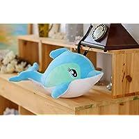 BLWD Dolphin Doll Cute Creative Child Toy Fashion Pillow M Length 45cm