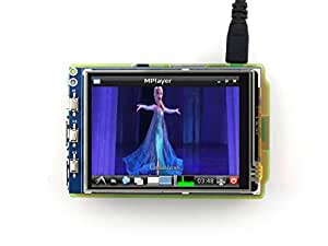 Waveshare Raspberry Pi LCD Display Module 3.2inch 320*240 TFT Resistive Touch Screen Panel SPI Interface for Any Version of Rapsberry-pi