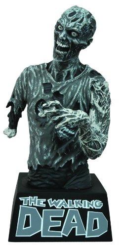 Walking Dead Zombie Bust Bank (Black/ White)