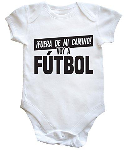 HippoWarehouse ¡Fuera De Mi Camino! Voy A Fútbol body bodys pijama niños niñas unisex